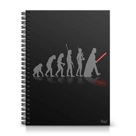 Caderno Universitário Capa Dura 1x1 - Geek Evolution