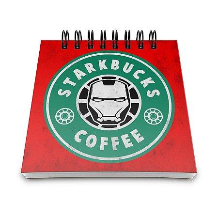 Bloco de Anotações StarkBucks Coffee
