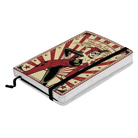 Caderneta de Anotação DC Comics Arlequina