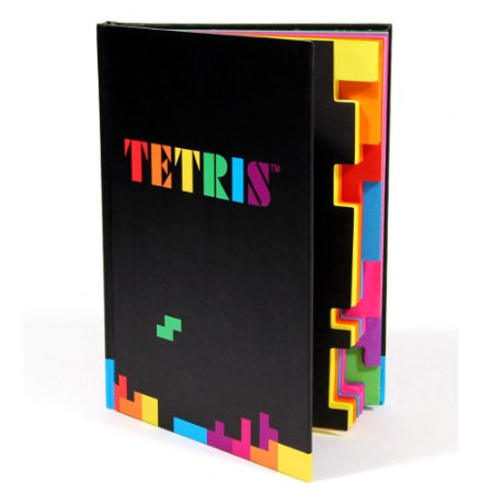 Caderno Tetris Notebook