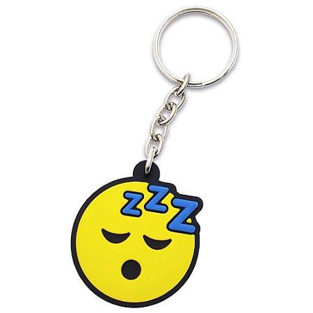 Chaveiro Emoticon - Emoji Dormindo zZz