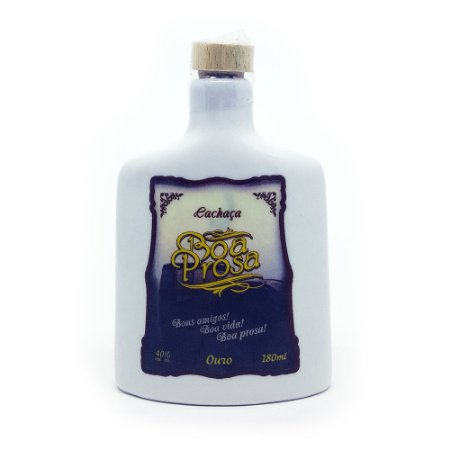 Cachaça Nobre Minas Boa Prosa Ouro - 180ml