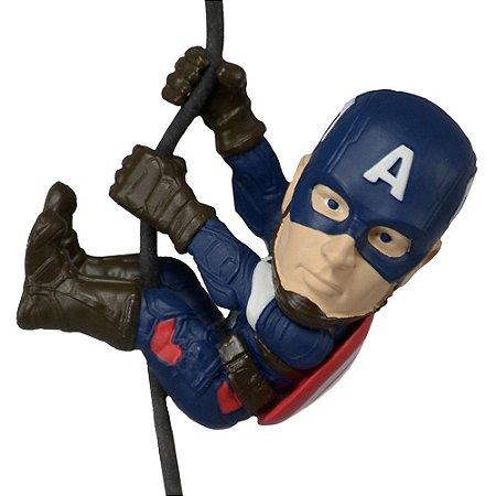 Miniatura Scalers Marvel Vingadores Capitão América