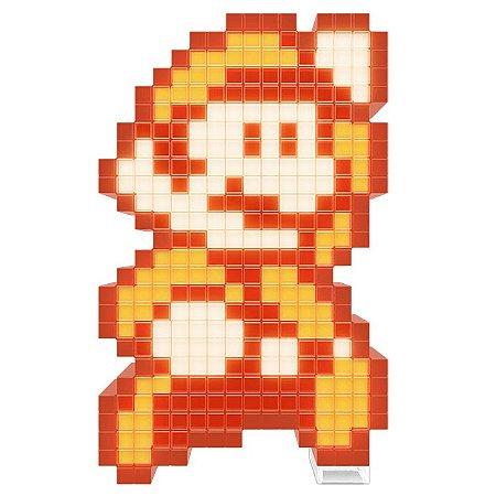 Luminária Pixel Pals Super Mario Bros 3 - Mario Fire
