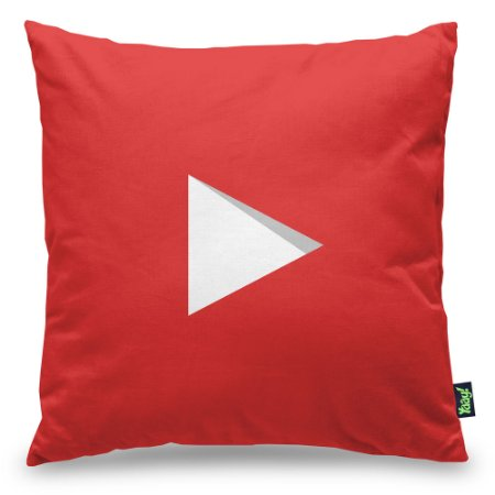 Almofada Play Button Subscribe