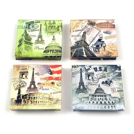 Bloco de Anotações - Tema Torre Eiffel