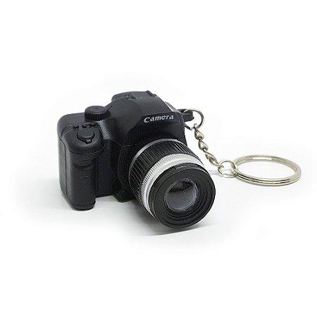 Chaveiro Câmera Fotográfica - emite Som de disparo e LED