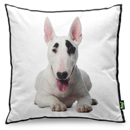 Almofada Love Dogs Black Edition - Bull Terrier