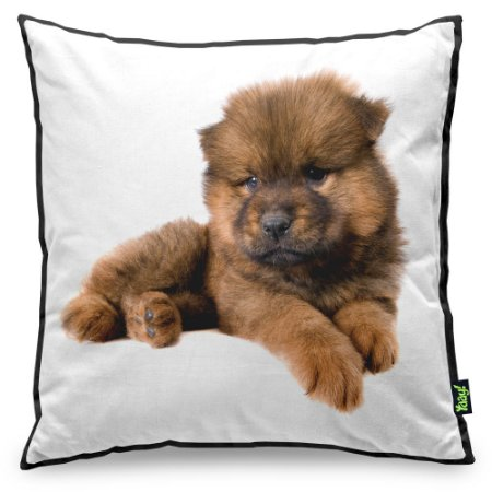 Almofada Love Dogs Black Edition - Chow Chow