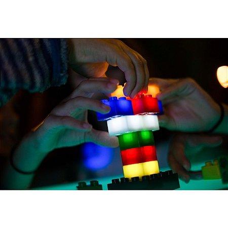 Luminária Light Stax - blocos de montar