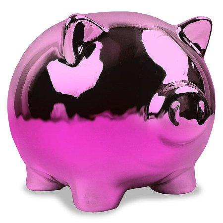 Cofre Porquinho - rosa