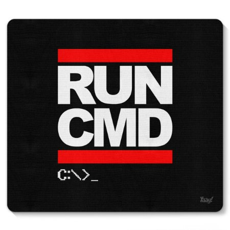 Mouse pad Hacker Run CMD