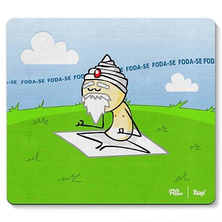 Mouse pad DrPepper - O sábio Sábio Meditando