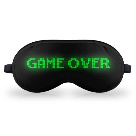 Máscara de Dormir em neoprene - Game Over