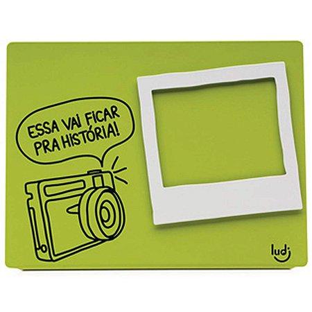 Porta Retrato Icones - verde