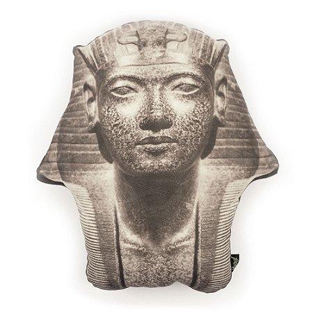 Almofada em suede Faraó Head