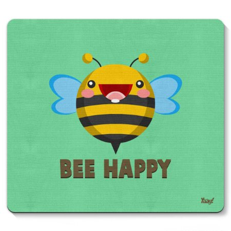 Mouse pad Abelha Bee Happy