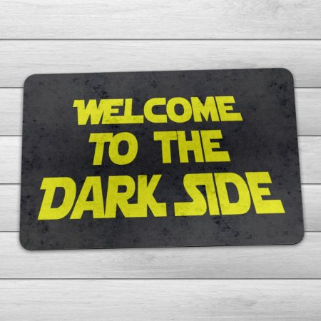 Capacho Eco 3mm Welcome to the Dark Side