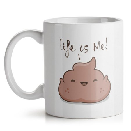 Caneca Life Is Me