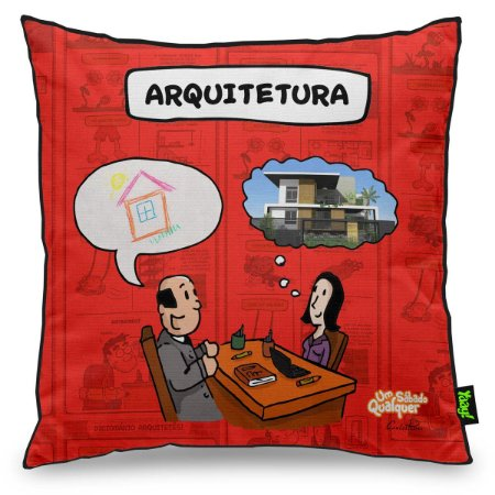 Almofada USQ Profissões Arquitetura