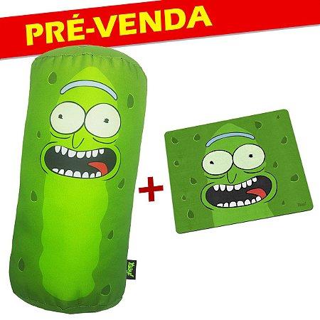 PRÉ VENDA - Kit Almofada e Mouse Pad Doctor Pickle