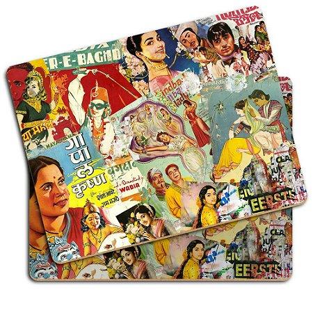 Set 2 pçs Placemat Bollywood em MDF