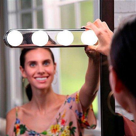 Luz LED sem fio para Espelho Estilo Camarim