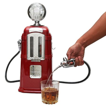 Dispenser para Bebidas Bomba de Gasolina Retrô