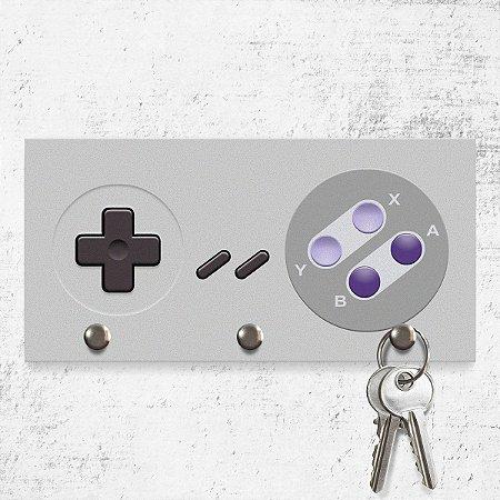 Porta Chaves Joystick 16-bits