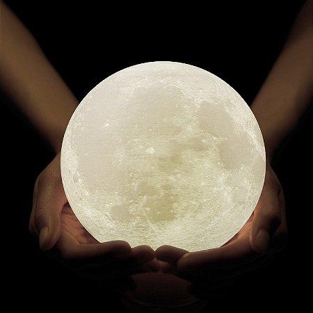 Luminária sem fio Lua Cheia