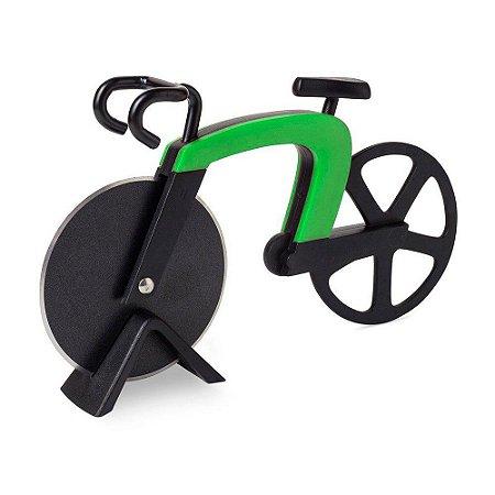 Fatiador de Pizza Bicicleta - verde