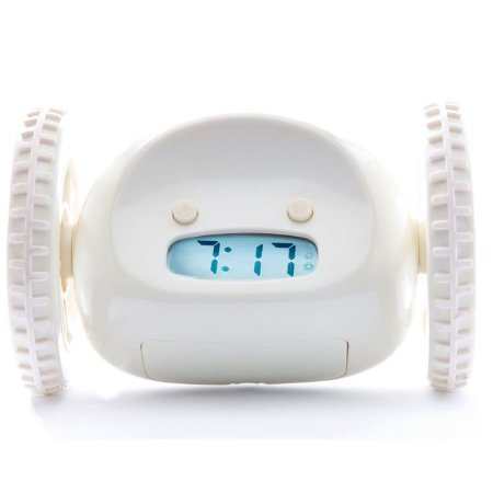 Relógio Despertador Fugitivo Que Corre