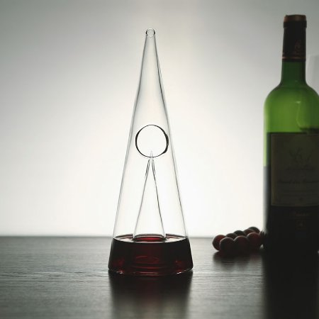 Decanter Pirâmide Crystal Wine - 500ml