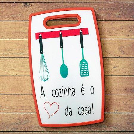 Tábua de corte a Cozinha é o coração da Casa