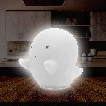 Luminária sem fio Fantasminha - branco