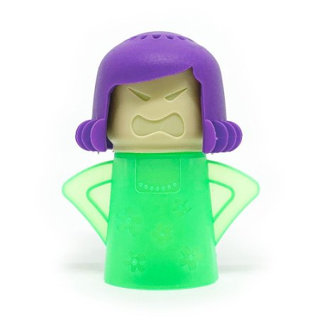 Limpador de Micro-Ondas Angry Mama - verde