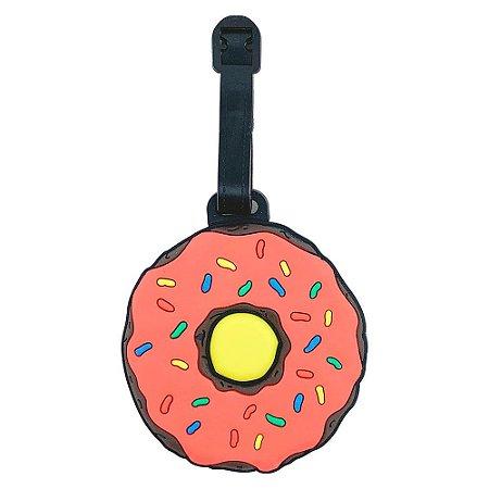 Tag de Mala para viagem Rosquinha Donut