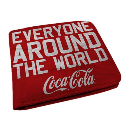 Carteira Coca-Cola Everyone Around The World