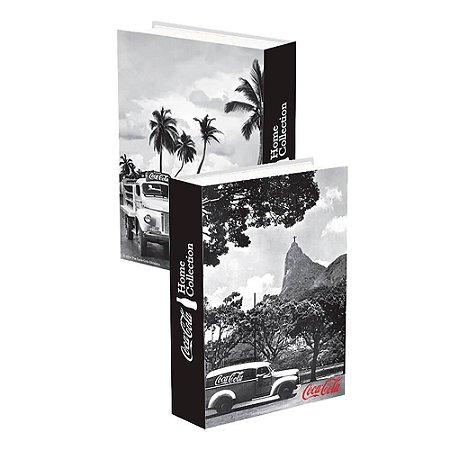 Caixa Livro Decorativa Coca-Cola Landscape Rio de Janeiro - 25 x 17 cm
