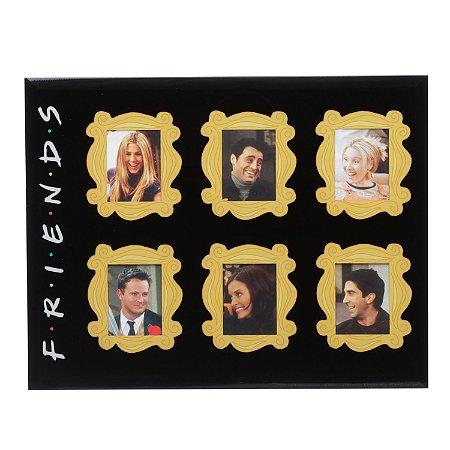 Porta Retrato Friends - 6 fotos
