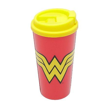 Copo plástico Grab and Go WB Wonder Woman - 500 ml