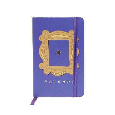 Caderneta de Anotações Friends Frame
