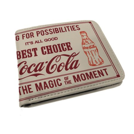 Carteira Coca-Cola Magic Moment - bege