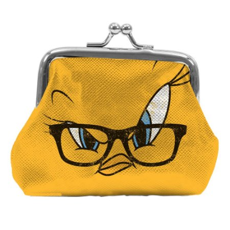 Porta Moedas Looney Tunes Piu-Piu Tweety big face