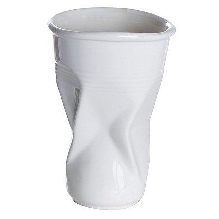 Vaso em cerâmica Copinho amassado