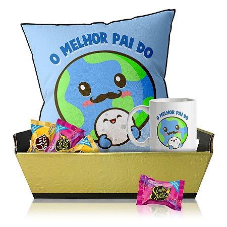 Kit Dia dos Pais - Melhor Pai do Planeta