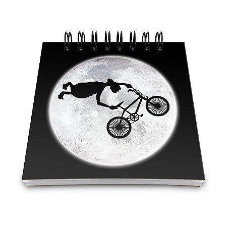 Bloco de Anotações ET BMX radical