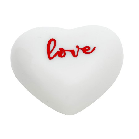Mini Adorno em porcelana Coração Love