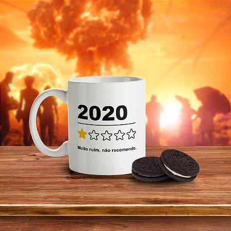 Caneca DrPepper 2020 Não Recomendo