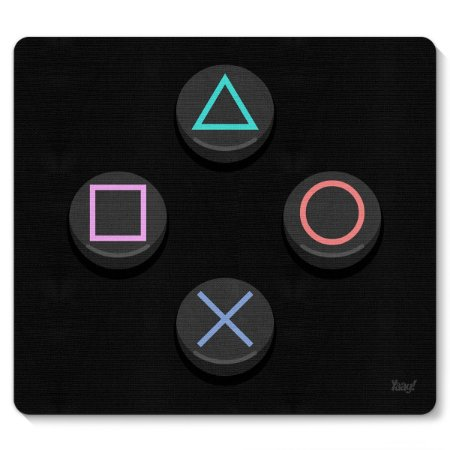 Mouse pad Gamer PC e Sonysta PS4